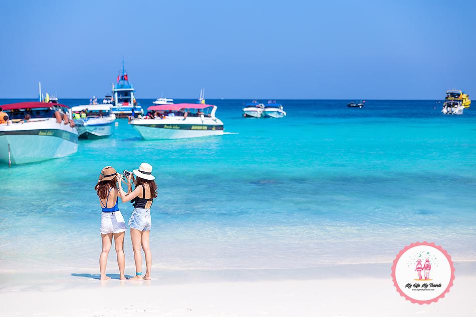 Racha Yai Island beach